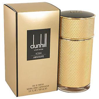 Dunhill Icon Absolute Eau De Parfum Spray por Alfred Dunhill 3.4 oz Eau De Parfum Spray