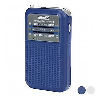 Transistor Radio Daewoo DRP-8 AM/FM/Blå