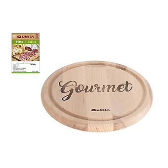 Tallrik Gourmet Quttin Trä/Ø 24 cm