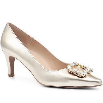Jones Bootmaker Aurelia Metallic Embellished Court Shoe