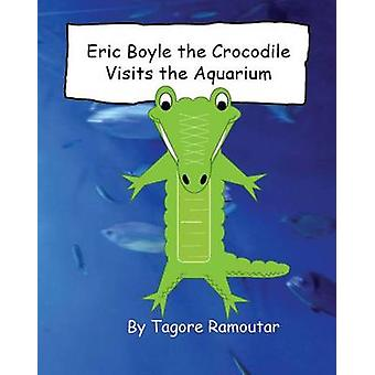 Eric Boyle the Crocodile visits the aquarium by Ramoutar & Tagore