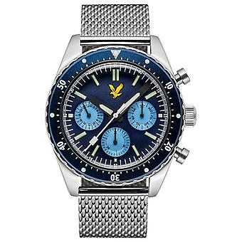 Lyle and Scott Highland Watch - Blue/Silver