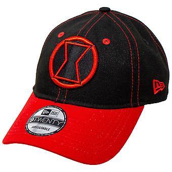 タイトルテキスト新時代920調整可能な帽子を持つブラックウィドウ映画ロゴ