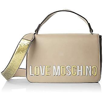 الحب موسكينو بو حقيبة اليد المرأة العاج (العاج) 7x18x29 سم (W x H x L)