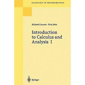 Inleiding tot calculus en analyse I door Richard Courant & Fritz John