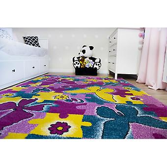 Rug KIDS Butterfly rose C429