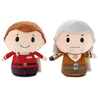 Hallmark Itty Bittys Star Trek Ii: Kirk And Khan Stuffed Animals Set Of 2 Us Limited Edition