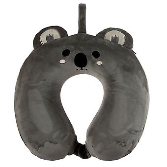 Resteazzz Cutiemals Koala Plush Memory Foam Travel Pillow