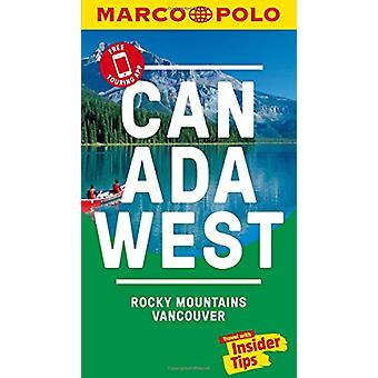 Canada West Marco Polo Pocket Travel Guide - with pull out map - Vanco