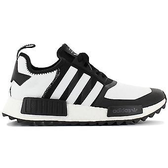 adidas NMD Trail PK WM - White Alpineering - Scarpe da uomo Primeknit Bianco-Nero CG3646 Sneakers Scarpe sportive