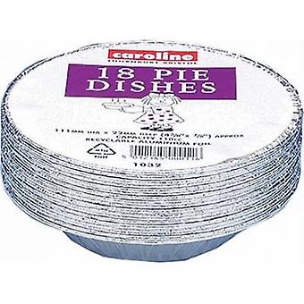 Caroline Disposable Pie Dish (Pack of 18)