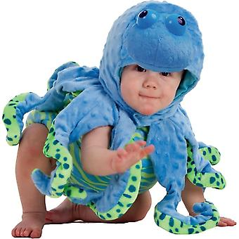 Blaue Krake Kleinkinder Kostüm