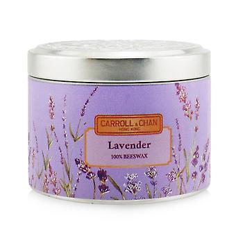 Carroll & Chan 100% Beeswax Tin Candle - Lavender (8x6) cm