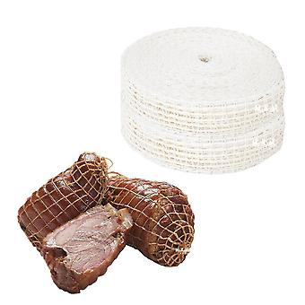 3 Meter Cotton Meat Net Ham Sausage - Net Butcher's String Sausage Net Roll Hot Dog Net Sausage Packaging Tools