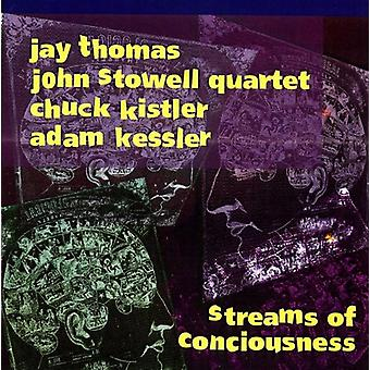 Jay Thomas & John Stowell Quartet - Streams of Conciousness [CD] USA import