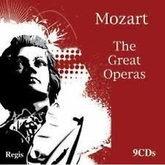 Mozart/Schwartzkopf/Baker/Pears - Great Operas [CD] USA import