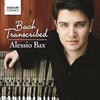 Godowsky/Petri/Siloti/Saens/Kempff - Bach: Transcribed [CD] USA import