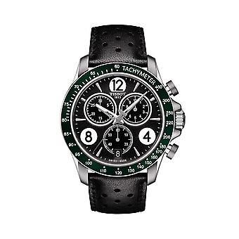 Tissot T106.417.16.057.00 V8 Chronograph Black Dial Men's Horloge