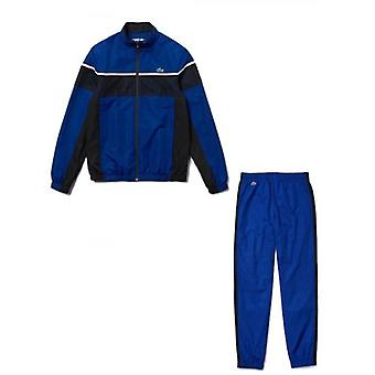 Lacoste Sport Royal Blue Colour Block Tracksuit