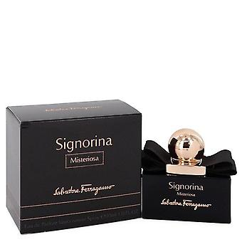 Signorina Misteriosa Eau De Parfum Spray By Salvatore Ferragamo 1 oz Eau De Parfum Spray