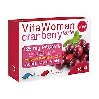 Vitawoman Tranbär Forte 30 kapslar