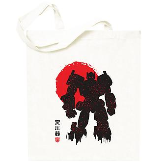Transformers Optimus Prime Silhouette Totebag
