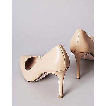Brand - find. Women's High Heel Leather Pumps Beige), US 7.5