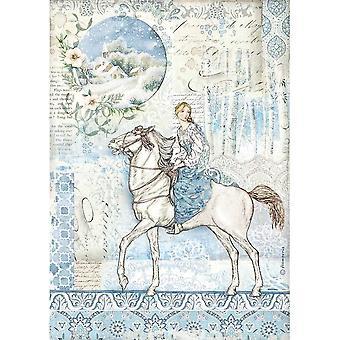Stamperia Papier ryżowy A4 Koń