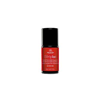 StripLAC Peel Off UV LED Nail Polish - Ruby Red (512) 8mL