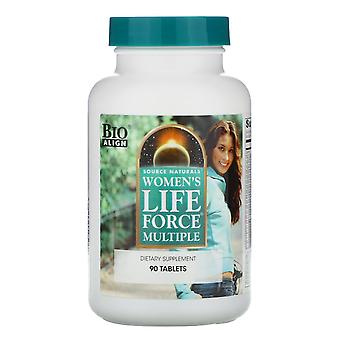 Source Naturals, Women's Life Force Multiple, 90 Tablets