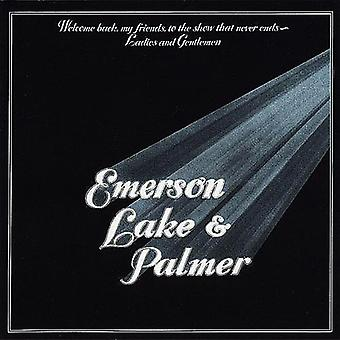 Emerson Lake & Palmer - Welcome Back My Friends per l'importazione di Show che mai fine [Vinyl] USA