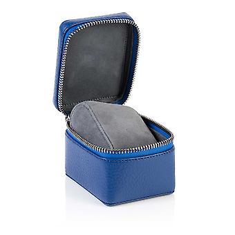 Sapphire Blue Richmond Leather Watch Box