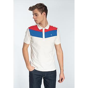 Merc CLYDE, Men's Cotton Colour Block Polo Shirt