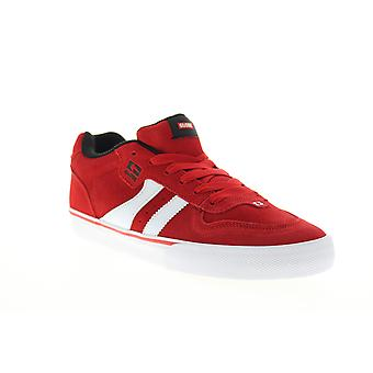Globe Encore 2 Herren Rot Wildleder Lace Up Skate Sneakers Schuhe