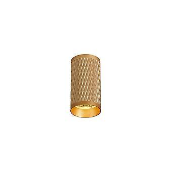 Luminosa Beleuchtung - 11cm Oberfläche montiert Deckenleuchte, 1 x GU10, Champagner Gold