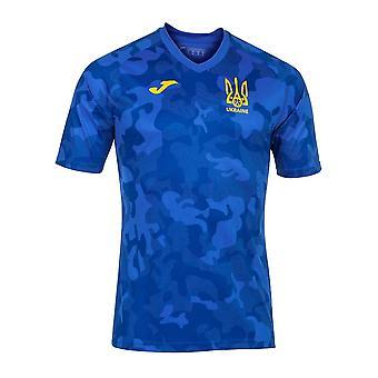 2020-2021 Oekraïne Trainingsshirt (Blauw)