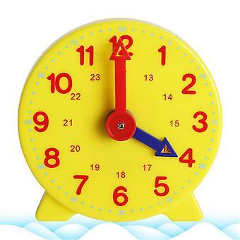 Student Learning Clock Time Teacher Gear Clock