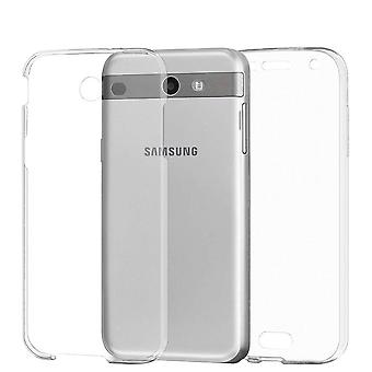 360 Degree Protection for Samsung Galaxy J3 Prime Mobile Shell Shockproof TPU Transparent
