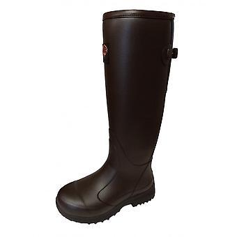 Gateway Pheasant Game Wellington Boots Dark Brown