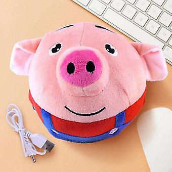 Children's Plush Toy Electric Cartoon Jumping Ball Toys Baby Kid