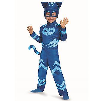 Costume de garçons super héros de Catboy Classic bleu PJ masques Pjmasks S