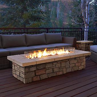 Ethanol Fireplace, Electronic Burner Flame For Outdoor Decoration  (