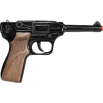 CAP GUN - 124/6 - Gonher Police Pistol 8 Shots