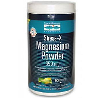 Trace Minerals Stress-X Magnesium Powder - 50 servings, 12.7 oz