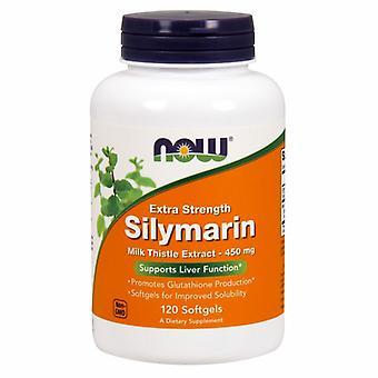 Agora Alimentos Silymarin Leite Extrato de Cardo, 450 mgs, 120 Softgels