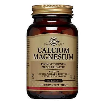 Solgar Kalsium Magnesium Tabletit, 100 Tabs