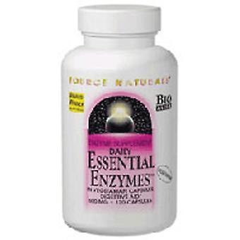 Kilde Naturals Essentielle enzymer, 500 mg, Vegetar 240 VCaps
