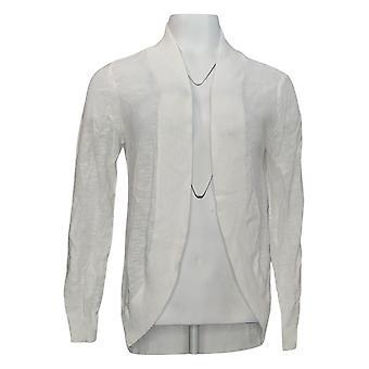 Belle Par Kim Gravel Women's Long Sleeve White A351256