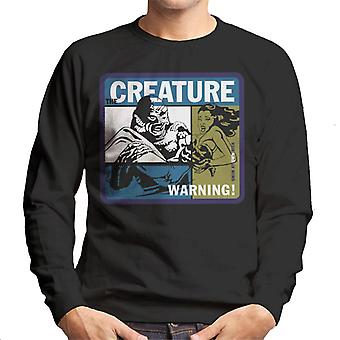 The Creature From The Black Lagoon Swim At Your Own Risk Men's Sweatshirt