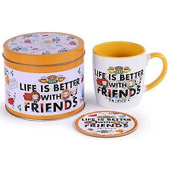 Friends Mug & Coaster Gift Tin
